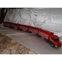 Maxximus De 2.80 Metros 5 Carretas Bitrem Brinquedo Caminhão