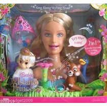 Barbie Island Princess Karaoke Rosella Styling Head
