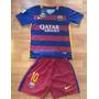 Camiseta Niño Barcelona #10 Messi Talla 24 (8-9 Años)