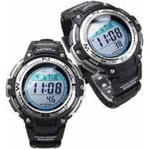 Relógio Casio Outgear Sgw-100 Bússola Termômetro Original