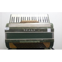 Acordeon Scala 120 Baixos 3ª De Voz 7 Registros 19046
