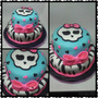 Torta Monster High X 4,5kg.
