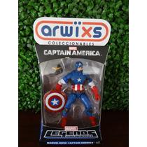 Marvel Legends Infinite Series Captain America New Costume