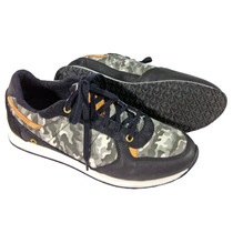 Zapatillas De Correr Davor Camuflada Militar Cuero + Lona