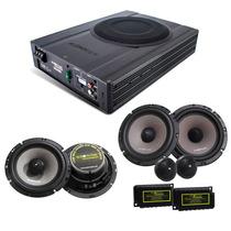 Kit Pro Audiophonic Caixa Amplif. Aps 2.1 + Ks6.2 + Cs650v2