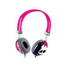 Fone Ouvido Headphone Monster High Rosa Menina Multilaser