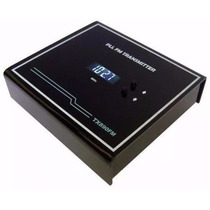 Kit Transmissor De Fm Stereo Com Pll 1 Watt + Antena P.terra