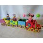 Tren Choo Choo De Mickey En Porcelana Fria Souvenirs