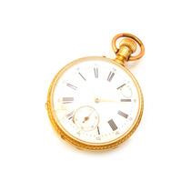 Relógio Bolso Pateck & Cº Geneve (patek) Em Ouro 18k J12636