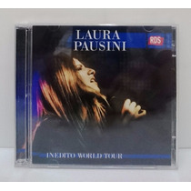 Cd+dvd Laura Pausini - Rds Showcase Inedito World Tour