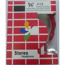 Audifonos Diadema - Stereo Headphone W-012