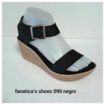 Sandalias Cuñas Plataforma Fanatica´s Shoes Mayor Y Detal