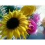 Flores Realizadas En Goma Eva: Rosas, Margaritas, Girasoles