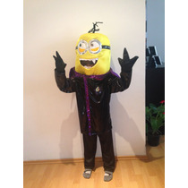 Disfraz Minnion Vampiro Halloween Envío Gratis