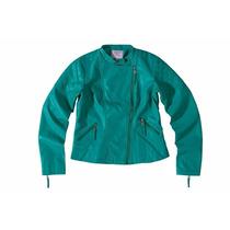 Jaqueta/casaco Feminino Em Pu Forrado Enfim/malwee/hering