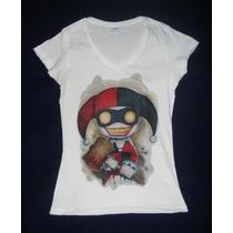 Blusa Camiseta Harley Quinn Joker Guasón Batman Dark Knight