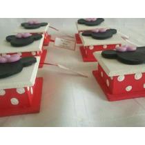Cajitas 5x5 Deco Minnie/mickey + 2 Jabones Perfumados X 10 U