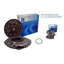 Kit De Embreagem Completo C/ Atuador Gm Astra 1.8 Álcool