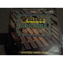 Disco Acetato: Valses En Marimba