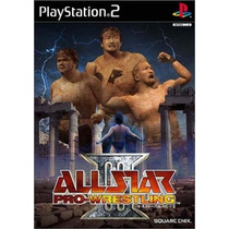 Patch All Star Pro Wrestling 3 Ps2 Frete Gratis