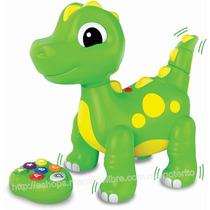 Dinosaurio Bailador Abc Control Remoto Didactico Interactivo