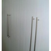Puxador Armário Cozinha/quarto Aço Inox 256 Mm-lote 10 Peças
