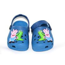 Sapato Infantil Croc Peppa Pig George Pig Luelua 17ao 27/28