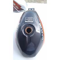 Tanque Moto Altino Preto 125 11litros Novo Cg Ml Ybr