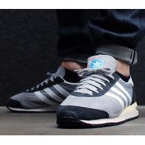 Zapatos Adidas Marathon 85 Grey White Talla 6.5/39/24.5 Cms