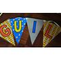 Bandeirola Ou Varal De Letras Personalizados 1,80 Cada