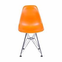 Cadeira Eames Metal Sem Braço Infantil Kids Or 1102