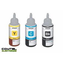 Tintas ( Botellas ) Originales Para Epson L200