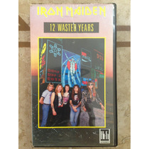 Iron Maiden Vhs 12 Wasted Years