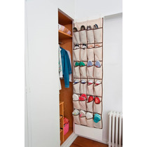 Organizador De Zapatos Para Puerta 12 Pares ( 24 Bolsillos)