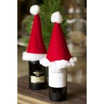 Decoración De Navidad - Cubre Botella Navideño X 2