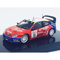 Miniatura De Citroen Xsara Wrc #18 2003 1:43 Autoart 60338