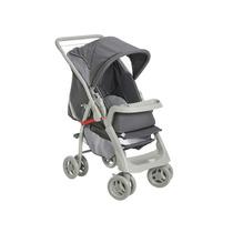 Carrinho De Bebê Pegasus Cinza Galzerano - Ate 17k