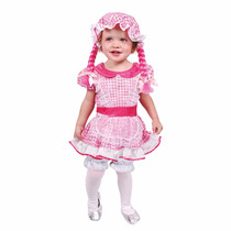 Disfraz Muñeca De Trapo Niñas, Talla 2 Y Talla 4, Haloween