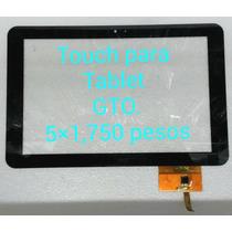 Touch Para Tablet Gto. 10.1 Pulgadas. 5x1,750 Pesos.