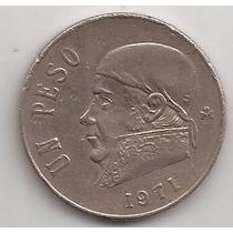 Mexico Moneda De 1 Peso Año 1971 !!
