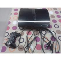 Playstation 3 Fat 80gb Con Juegos Cargados!
