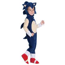 Disfraz Infantil Importado De Sonic