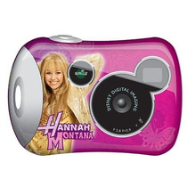 Disney Pix Micro Cámara Digital De 2,0 - Hannah Montana