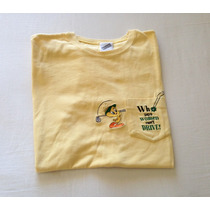 Playera Warner Bros. Piolín Golf! Xs. Bordada. Envío Gratis!