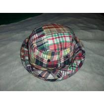 Sombrero De Niña, De Cuadro, Marca Gap- Original