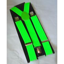 M44 Tirador Regulable Unisex De Elastico Verde Fluor
