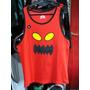 Musculosa Skate Toy Machine (color Rojo) - Talle L