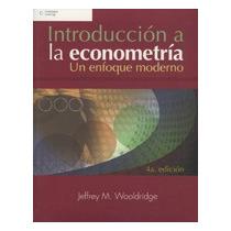 Introducción A La Econometría: Un Enfoque Moder Envío Gratis