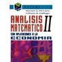 Analisis Matematico 2 Economia Di Caro Macchi Matematica