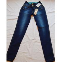 Calça Jeans Escuro Marca Colcci Skinny Temos Lança Perfume